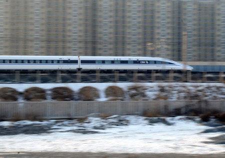 """铁、哈大高铁和东南沿海客运专线.京广全线通车,""""四纵""""主骨架建高清图片"""