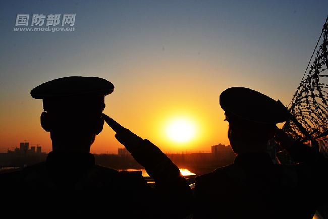 中国军人电脑桌面壁纸